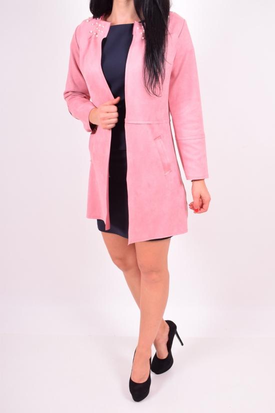 Пиджак женский (цв.розовый) BRC (Cotton 100%) Размер в наличии : 48 арт.4457