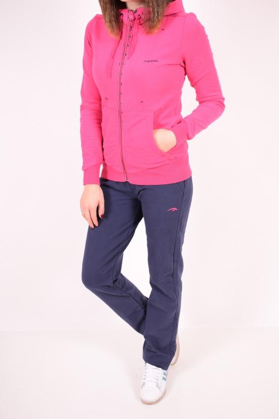 Костюм спортивный женский трикотажный на флисе MARATON (Cotton 70%,Polyester 30%) Размеры в наличии : 42,44,46,48 арт.12062-TK