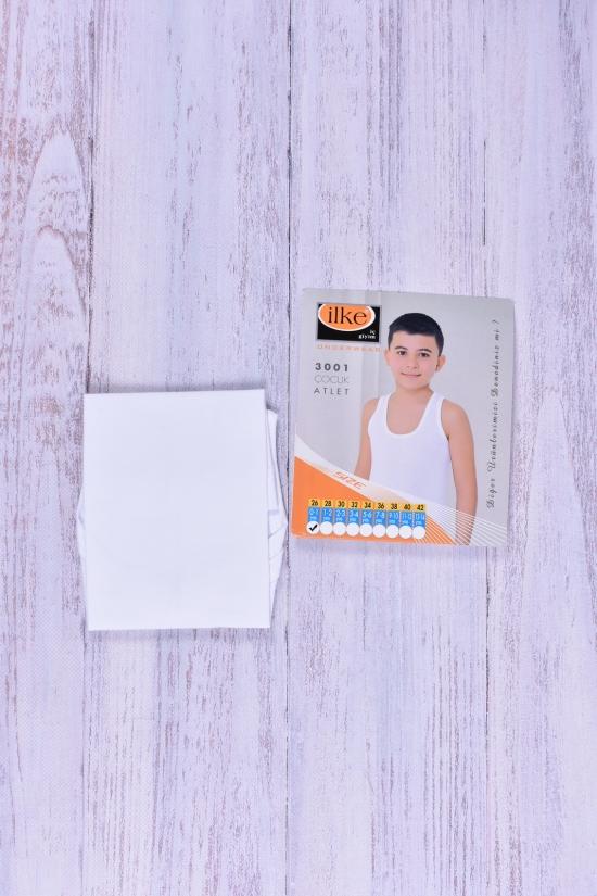 Майка для мальчика (цв.белый) Ilke рост 92 (Cotton 100%) арт.3001