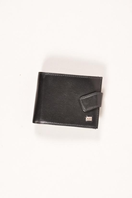 Кошелёк мужской кожаный размер 11/9 см Anil арт.689-A