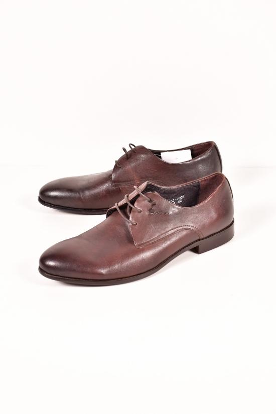 Туфли мужские из натуральной кожи New JIANSAN Размер в наличии : 42 арт.W234