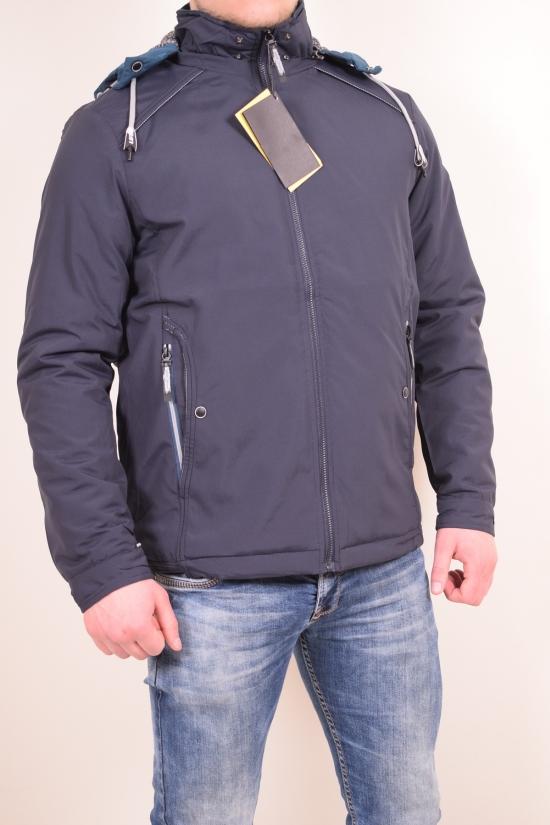 Куртка мужская из плащевки (color 2) демисезонная состав 100% Polyester GMF Размеры в наличии : 46,48,50,52,54,56 арт.6825