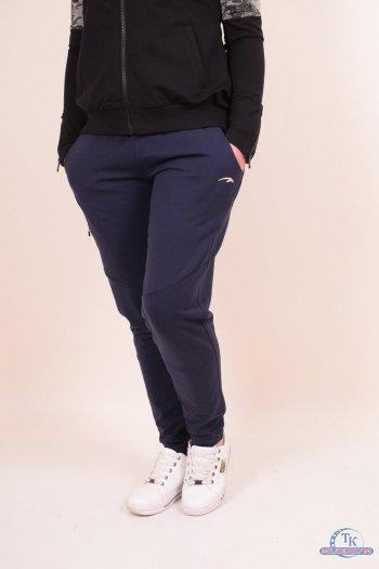 Брюки спортивные женские трикотажные (цв.т.синий) MARATON Размеры в наличии : 44,46,48 арт.MWAW1715770PNT002