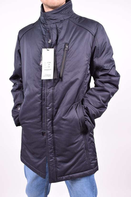 """Куртка мужская из плащевки (цв.т/синий) """" WEILDIED"""" Размеры в наличии : 48,50,54,56 арт.D-389,"""