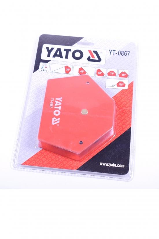 Струбцина магнитная для сварки 111/136/24мм YATO арт.YT-0867