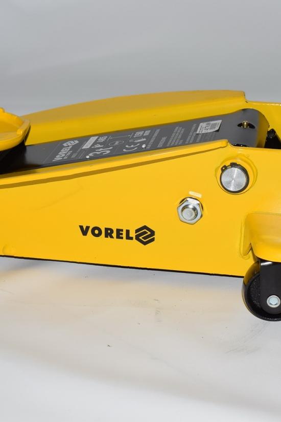 Домкрат гидравлический подкатной 3т. VOREL арт.80233