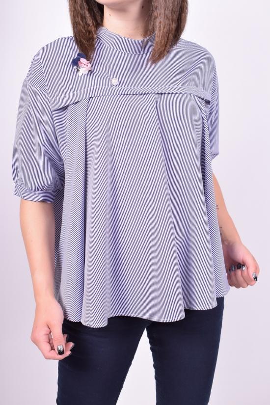 Блузка женская  стрейчевая  BASE Размеры в наличии : 50,52,54 арт.E2258