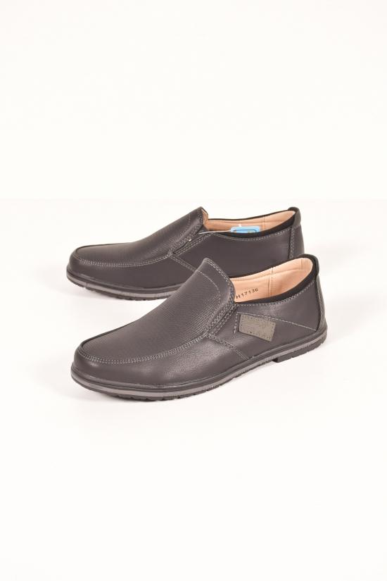 Туфли  для мальчика Y.TOP Размеры в наличии : 34,35,36 арт.H17136-6