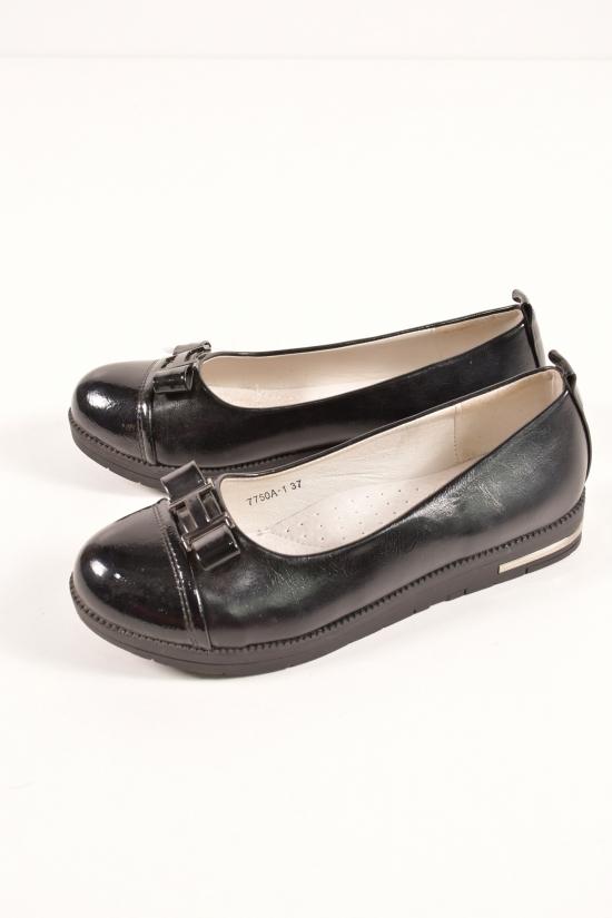 Туфли для девочки  L&L Размеры в наличии : 32,33,34,35,36,37 арт.7750A-1