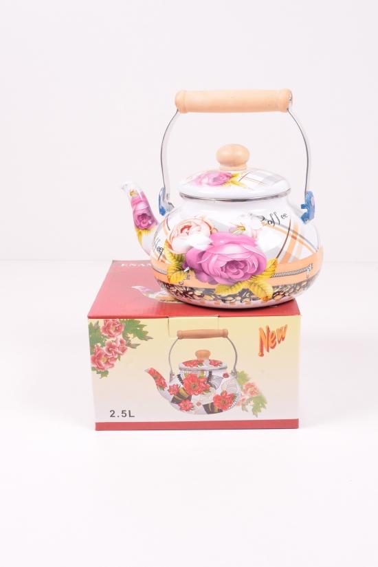 Чайник эмалированный (2,5л) Benson арт.BN-109