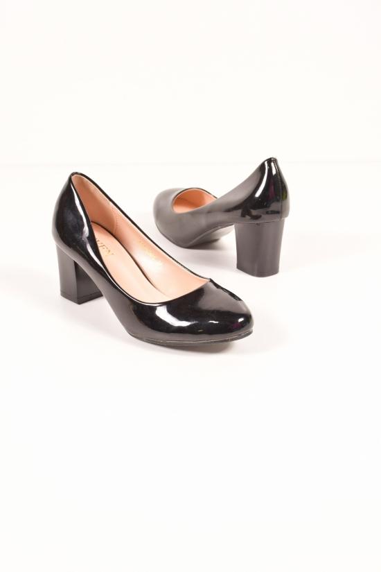 Туфли для девочки лаковые SEVEN Размер в наличии : 36 арт.777-C595