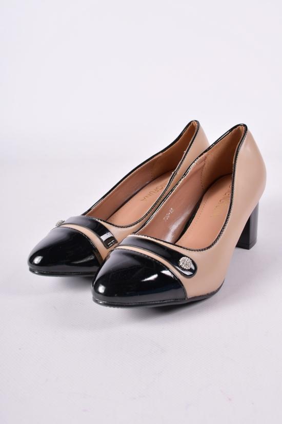 Туфли женские Mengfuna Размеры в наличии : 36,39,40 арт.730-15