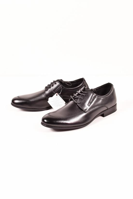 Туфли для мальчика кожаные HOROSO Размеры в наличии : 36,37,38,39 арт.FBT355-1