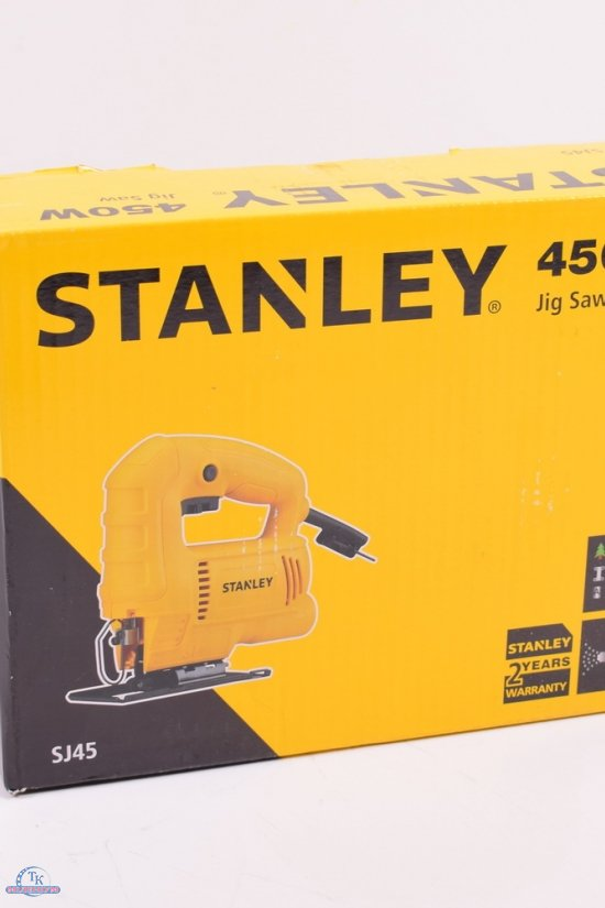 Электро лобзик Stanley P=450 BT 500-3000 об/мин ход-19мм глубина 65 мм арт.SJ45
