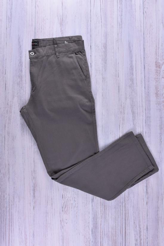 Брюки мужские габардин (цв.серый) JOYMEN Размеры в наличии : 36,38,40,42,44 арт.H02model30