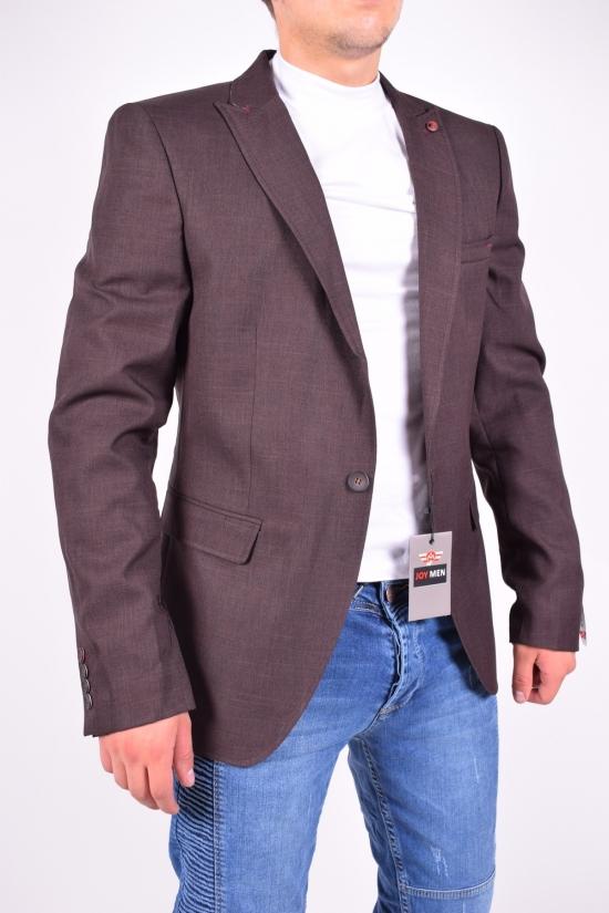 Пиджак мужской Slim Fit (color 01) JOYMEN Размеры в наличии : 44,46,50,52 арт.7202
