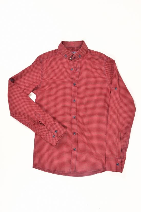Рубашка мужская  (цв.бордовый) Ronex Размеры в наличии : 44,46,48,50,52 арт.07/07