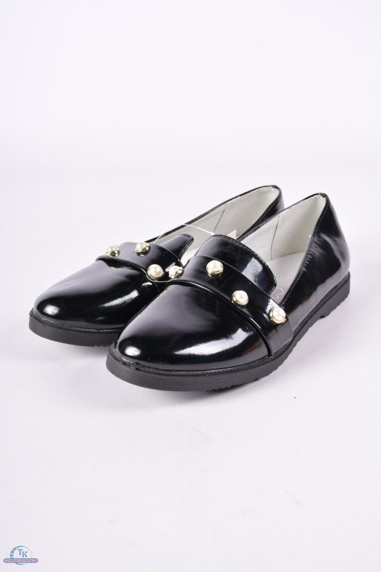 """Туфли для девочки лаковые  """"СОЛНЦЕ"""" Размеры в наличии : 33, 34, 35, 36, 37 арт.XS18-13"""