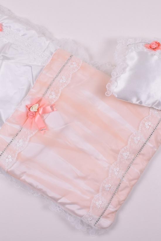 Конверт для новорожденного (цв.белый) арт.96742