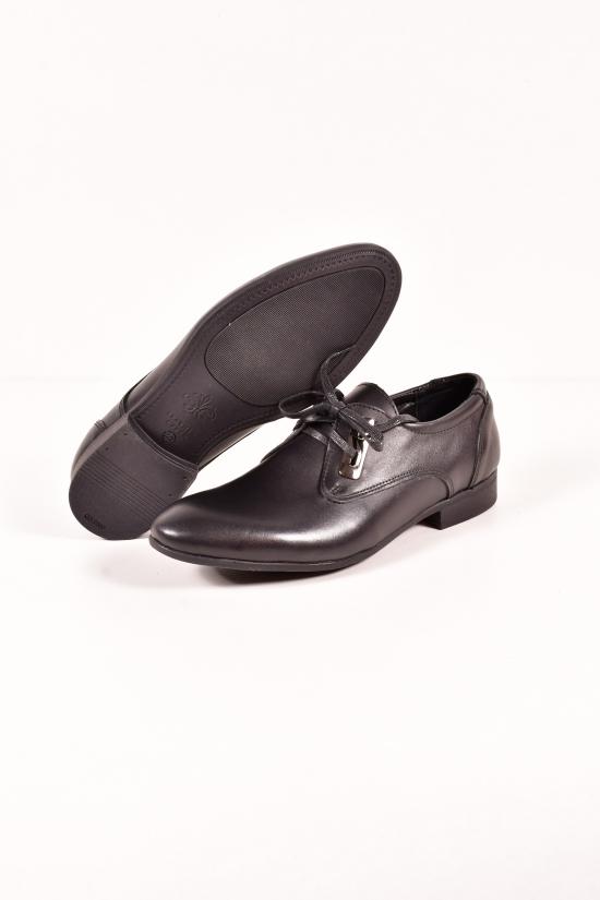 Туфли мужские из натуральной кожи DAN shoes Размеры в наличии : 41, 42, 43, 45 арт.3D90-3/91