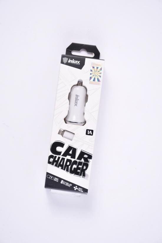 Зарядное устройство 1A + USB кабель inkax арт.CD-13-IP