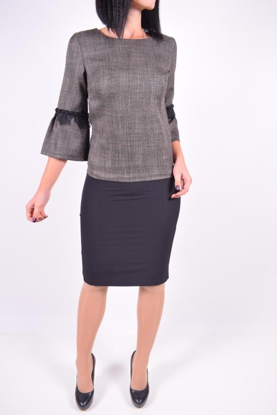 Костюм женский (цв.бронза) IDEAL CAROLINA (Cotton 65%,Lycra 5%,Polyester 10%,Viscose 20%) Размеры в наличии : 42,44 арт.316007DPR