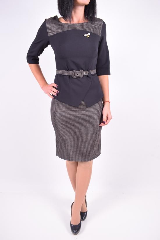 Костюм женский (цв.коричневый) IDEAL CAROLINA (Cotton 65%,Lycra 5%,Polyester 10%,Viscose 20%) Размеры в наличии : 42,44 арт.316008DPR