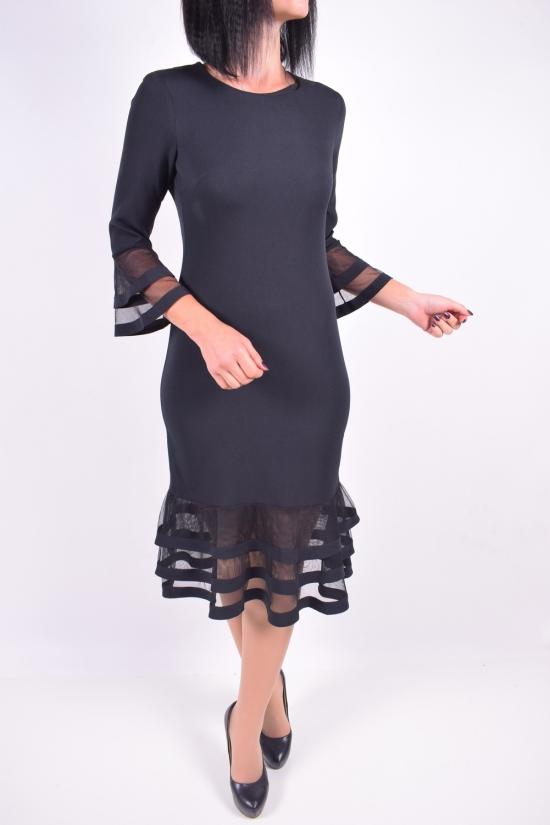 Платье женское IDEAL CAROLINA (Elastane 10%,Polyester 70%,Viscose 20%) Размер в наличии : 44 арт.186832SVE