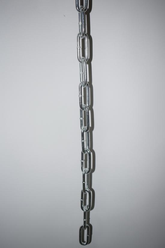 Цепь длиннозвенная DIN 763 оцинкованная 4мм арт.DIN763