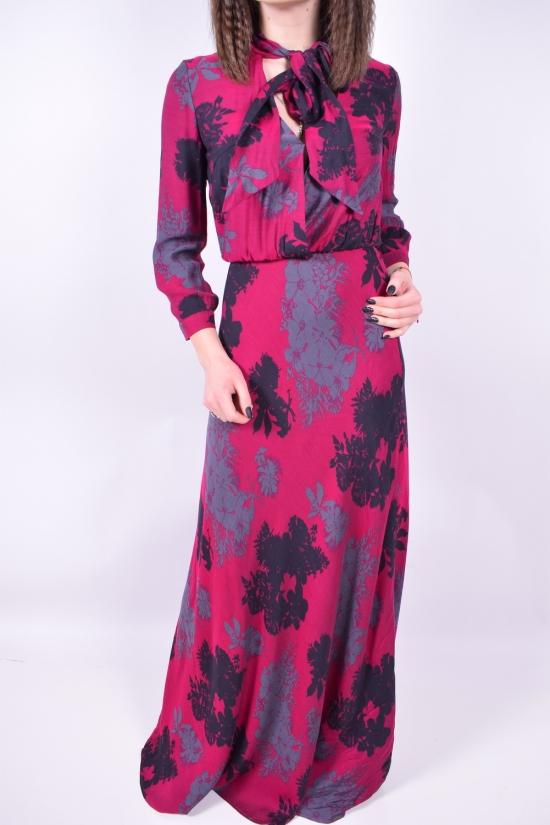 Платье женское (цв.бордовый) SOVA Размер в наличии : 42 арт.11351