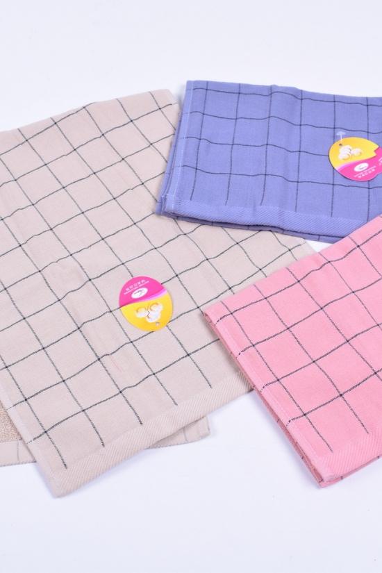 Полотенце банное махрово-льняное размер 70/140см. (вес 360г) арт.40-15