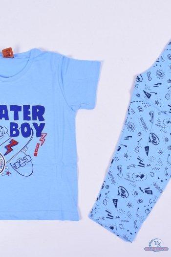 Пижама для мальчика (цв.голубой) Vitmo Роста в наличии : 104,110,116 арт.262718