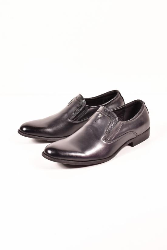 Туфли мужские из натуральной кожи YALASOU Размеры в наличии : 42, 43, 45 арт.FB5152-2