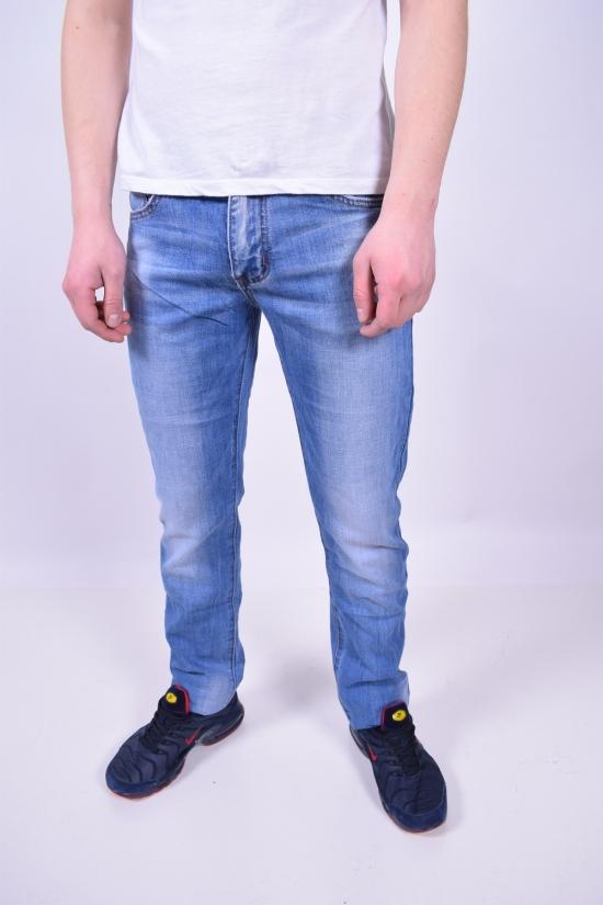 Джинсы мужские стрейчевые Fang Jeans Размеры в наличии : 28,29,30,31,32,33,34 арт.A-2080