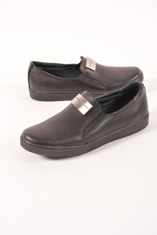 Туфли женские из натуральной кожи (цв.черный) Violetti Размеры в наличии : 36,37,40 арт.2318