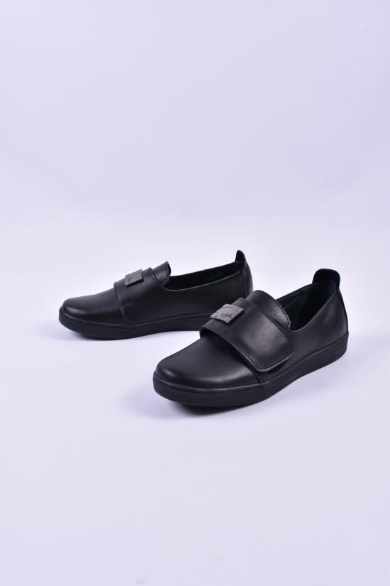 Туфли женские (цв.черный) из натуральной кожи Violetti Размеры в наличии : 36,37,38,39,40 арт.2412