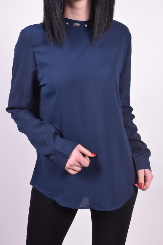 Блуза женская ( цв.т.синий) Qianzhidu (Polyester 100%) Размеры в наличии : 36,38,40,42,44 арт.B80006