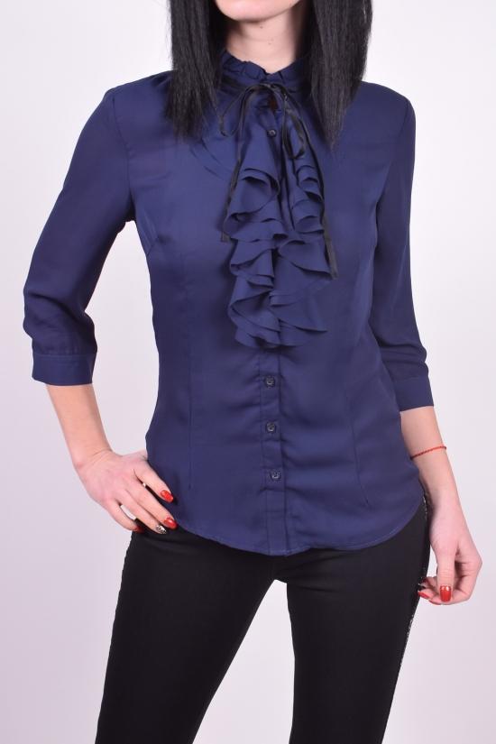 Блузка женская  (цв.т.синий) Qianzhidu Размеры в наличии : 42,44,50 арт.81028