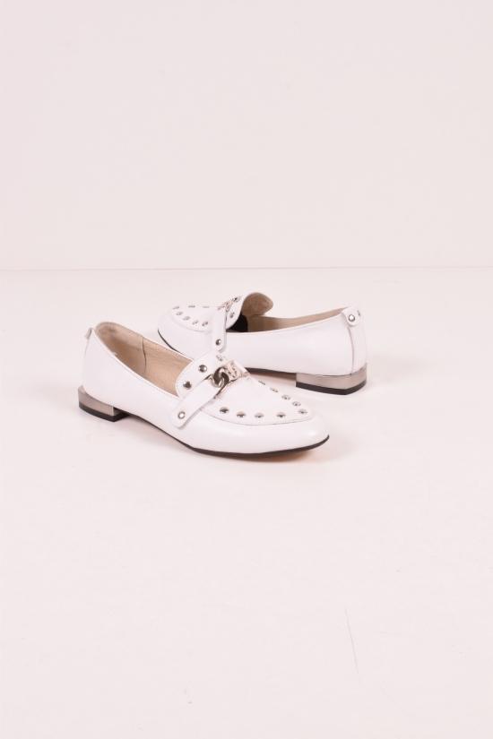 Туфли женские из натуральной кожи WELES Размеры в наличии : 36,37,38,39,40 арт.19200-1