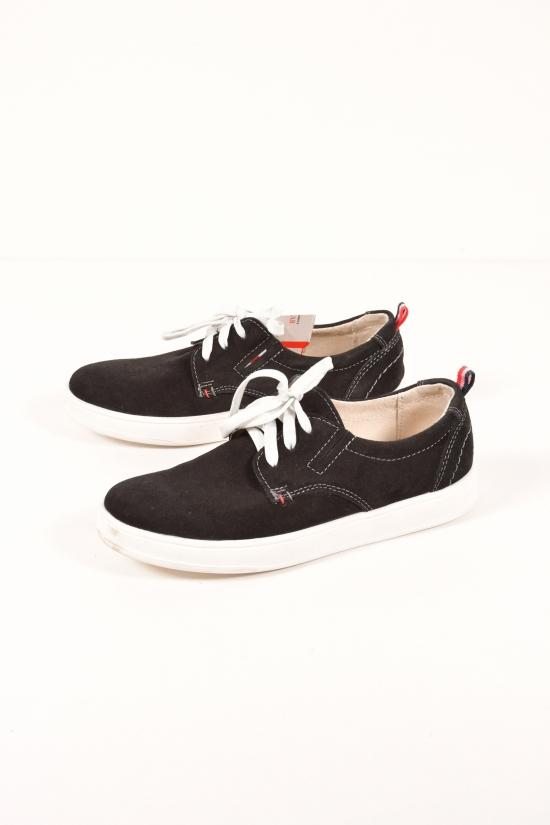 Туфли спортивные для мальчика из натуральной замши DAN shoes Размеры в наличии : 35,36,40 арт.1Em210-4/30