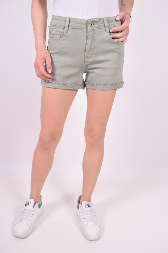 Шорты женские джинсовые стрейчевые X&D FASHION Размер в наличии : 28 арт.K-5096-28