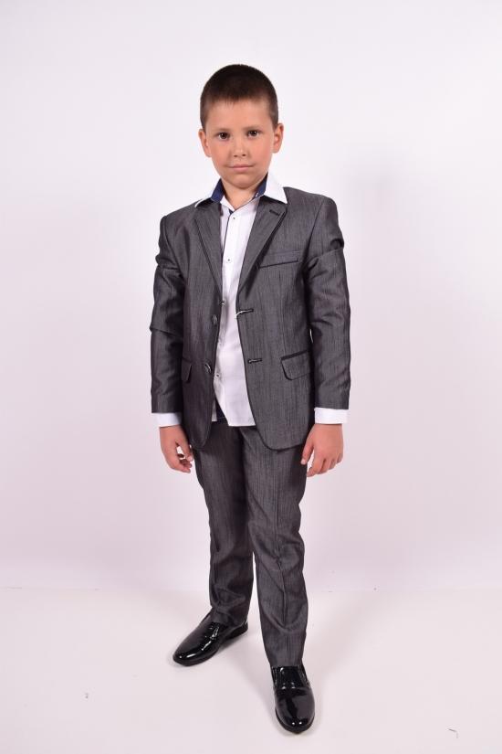 Костюм классический для мальчика  color 02 Palmiro rossi Роста в наличии : 110,122,128,134 арт.115/02