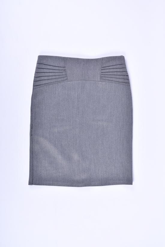 Юбка стрейчевая для девочки (цв.серый) AWADORE Рост в наличии : 152 арт.0033