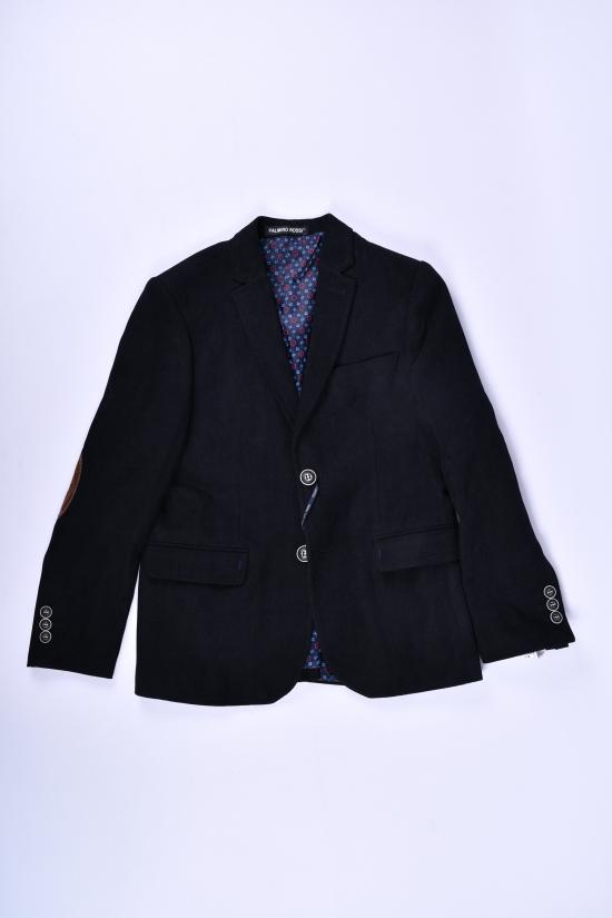 Пиджак для мальчика  Slim fit  color 5614 Palmiro rossi Роста в наличии : 116,122,128,134,140 арт.2746