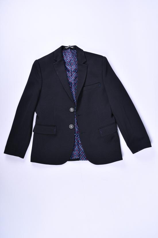 Пиджак для мальчика (Joker) color Siyah Palmiro rossi (slim fit) Роста в наличии : 116,122,128 арт.8026
