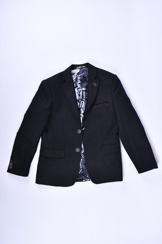 Пиджак для мальчика (Hasir)  color 8500 Palmiro rossi Роста в наличии : 116,122,128,134 арт.4020