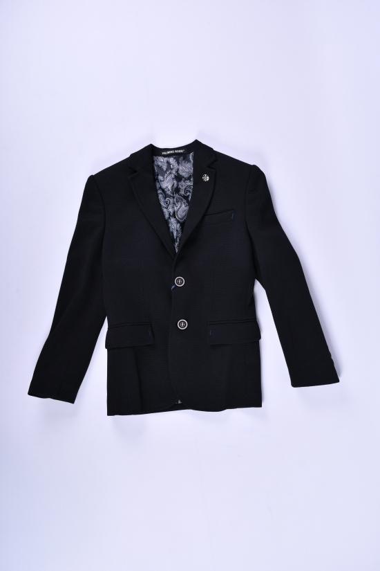 Пиджак для мальчика (Gomez) color 1136 Palmiro Rossi Роста в наличии : 116,122,128,134,140 арт.8025