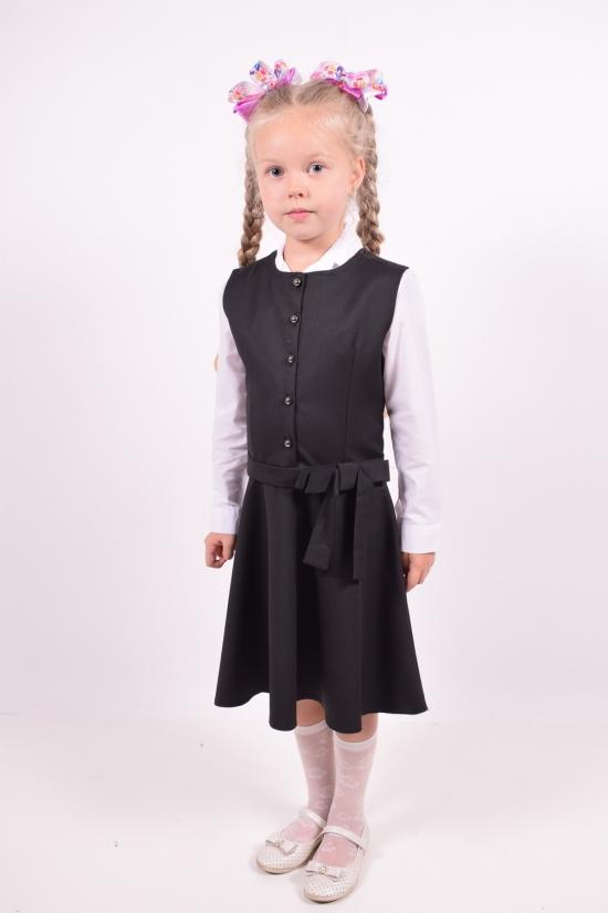 Сарафан  для девочки (цв.черный) PEIDA Рост в наличии : 116, 122, 128, 134, 140 арт.5301