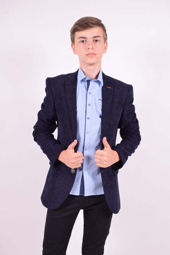 Пиджак для мальчика (ADA)  color 5610  Palmiro rossi Рост в наличии : 164 арт.8021