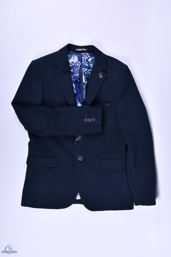 Пиджак для мальчика (mitro)  color F11 Palmiro rossi Роста в наличии : 140,146,152,158,164 арт.4020